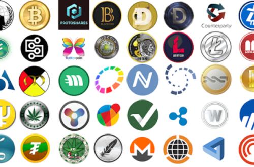 アルトコインのロゴ集