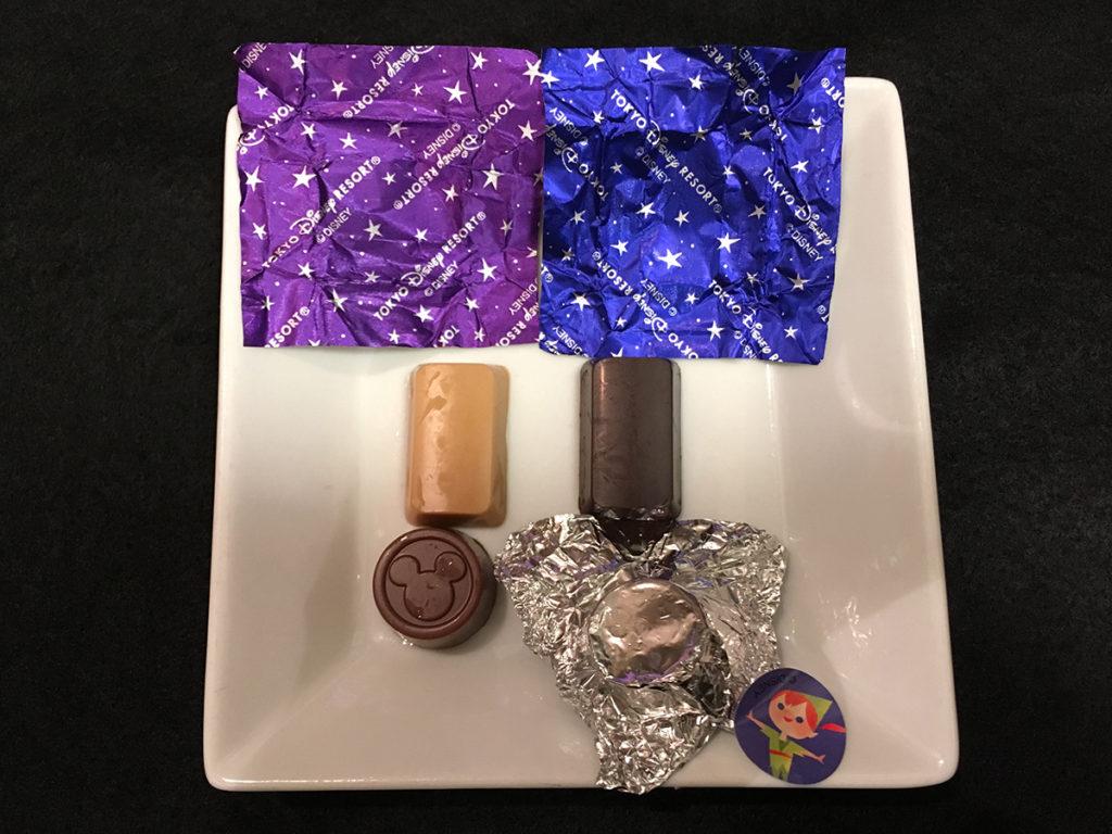 東京ディズニーリゾート限定「アソーテッド・チョコレート」スウィート&キャラメル風味&ミルク