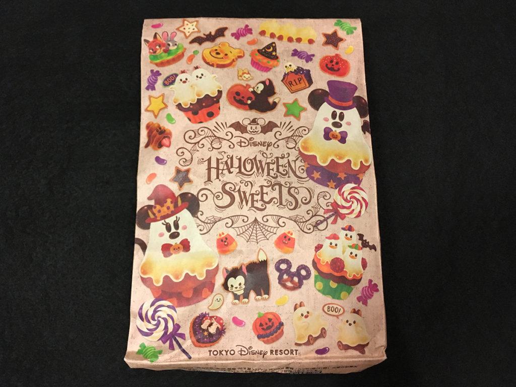 「ハロウィーンスウィーツシリーズ」クッキー「パッケージ表面」
