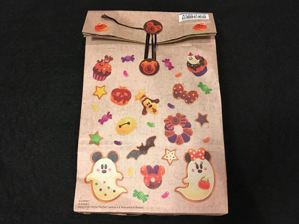 「ハロウィーンスウィーツシリーズ」クッキー「パッケージ裏面」
