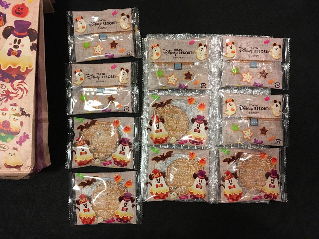 「ハロウィーンスウィーツシリーズ」クッキー「クッキー個包装」