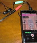 【nana録音】Androidでオーディオインターフェイスを介した外付けマイクは認識されるのか実験!